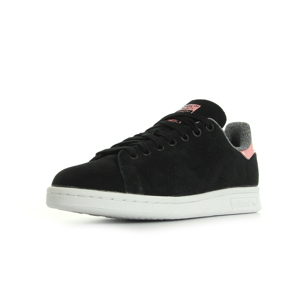schuhe adidas damen stan smith w schwarz ebay. Black Bedroom Furniture Sets. Home Design Ideas