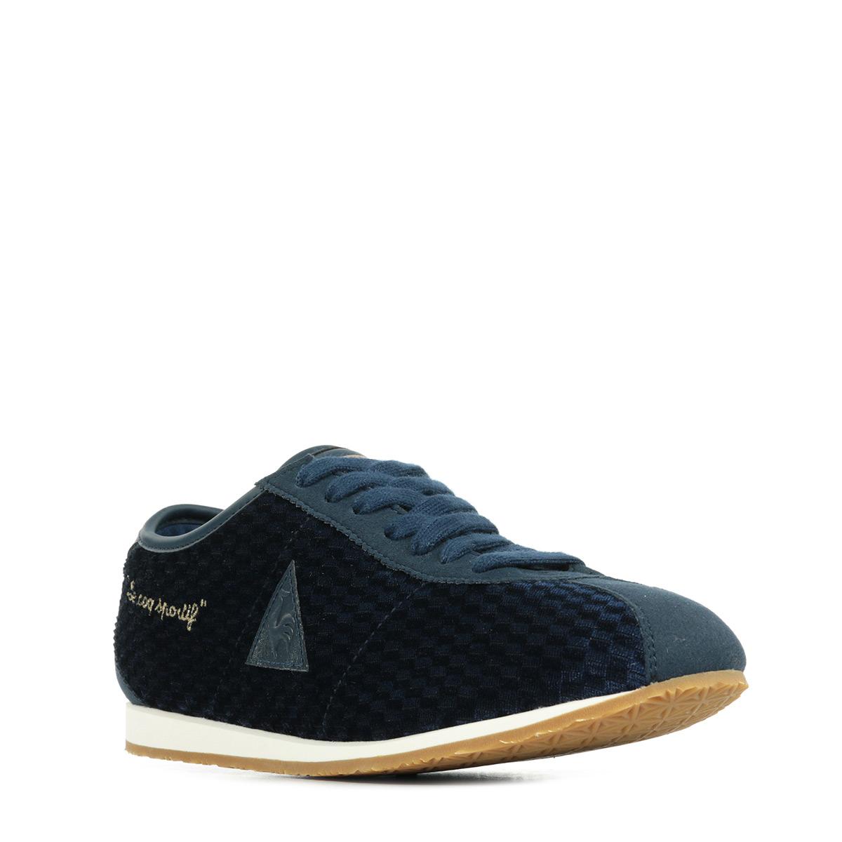 sneaker schuhe le coq sportif damen wendon w velvet blau ebay. Black Bedroom Furniture Sets. Home Design Ideas