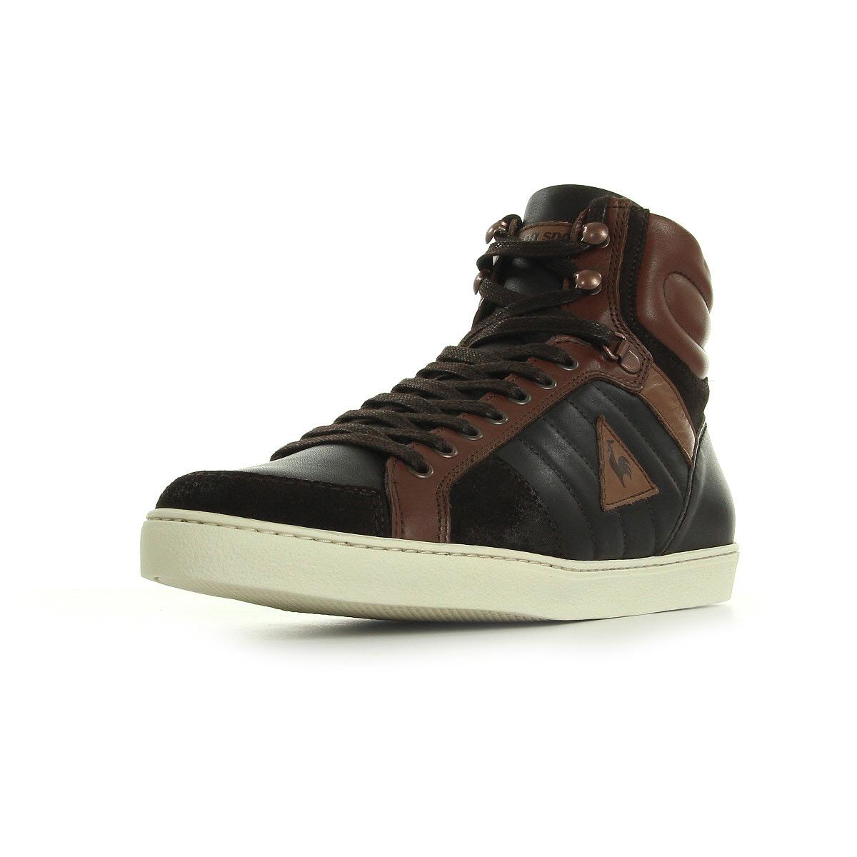 Basket mode - Sneakers LE COQ SPORTIF Perpignan Mid Marron n1dRmazTBi