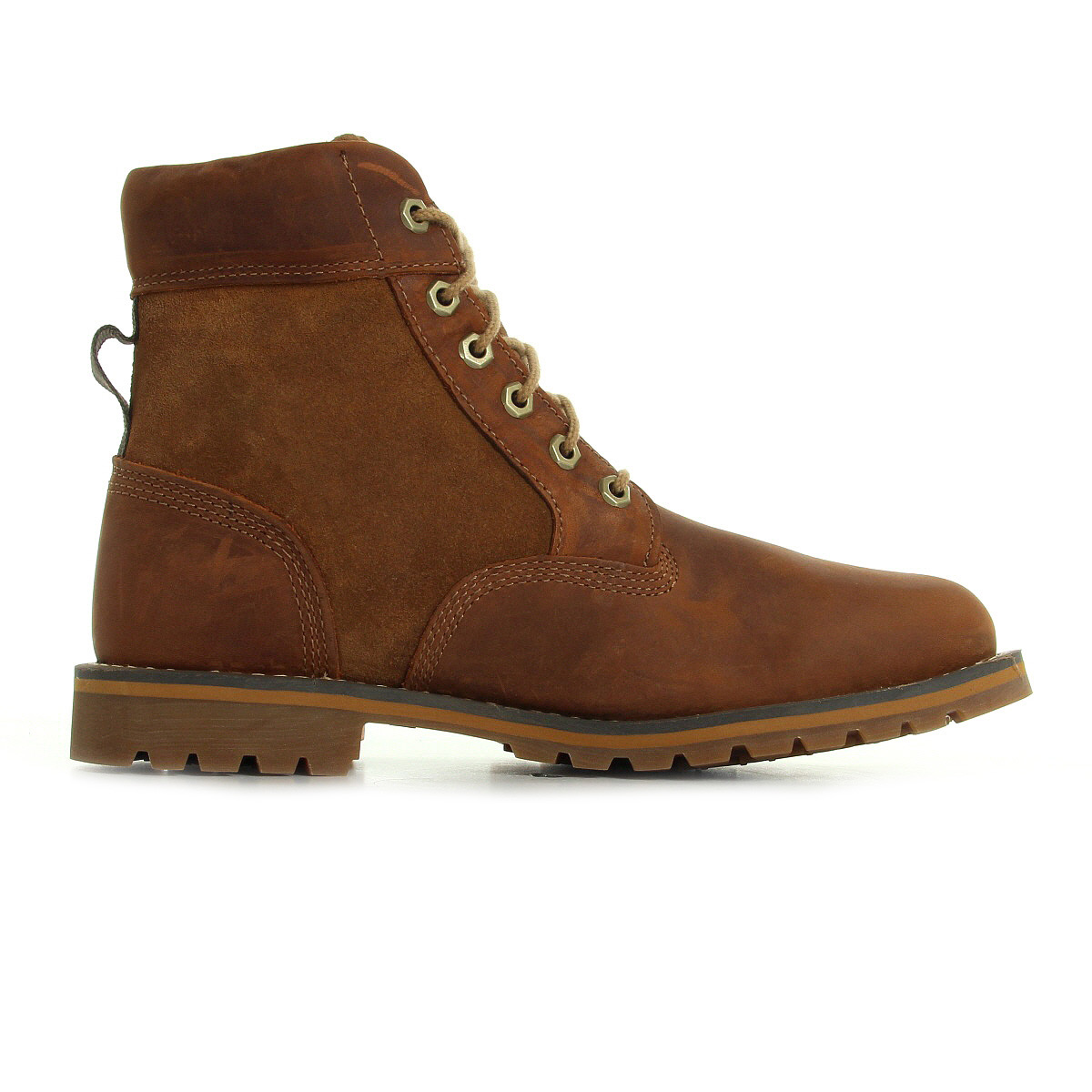 bottines timberland homme larchmont 6in boot b medium brown taille marron cuir. Black Bedroom Furniture Sets. Home Design Ideas