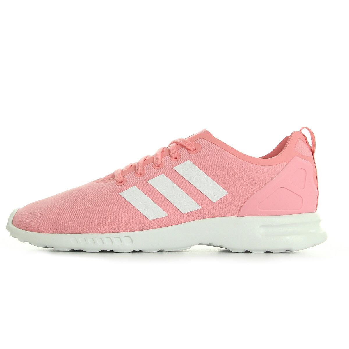adidas zx flux femme rose pale