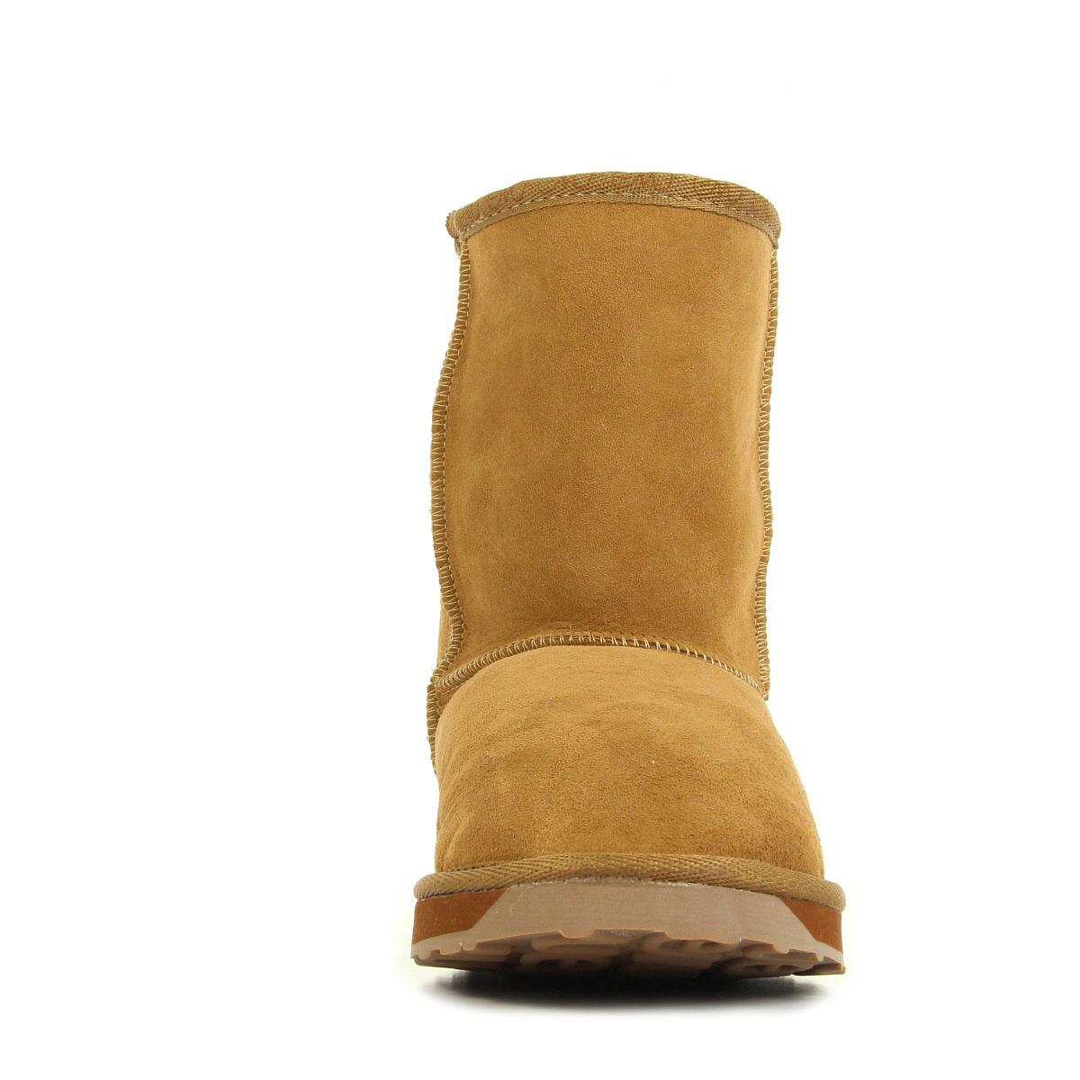 EMU Australia Platinum Stinger Lo Chataigne WP10002CHEST, Boots femme