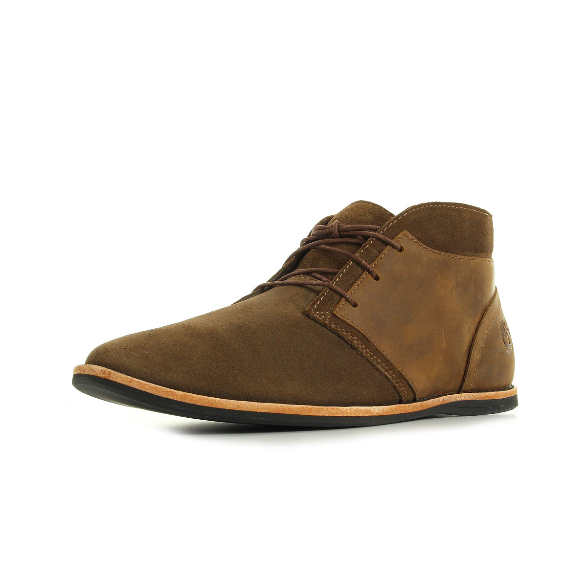 chaussures ville basses timberland homme ekrevnia chka taille marron cuir lacets ebay. Black Bedroom Furniture Sets. Home Design Ideas