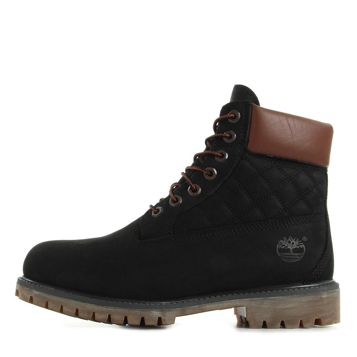 Détails sur Chaussures Boots Timberland homme 6 IN Premium Boot taille Noir Noire Cuir