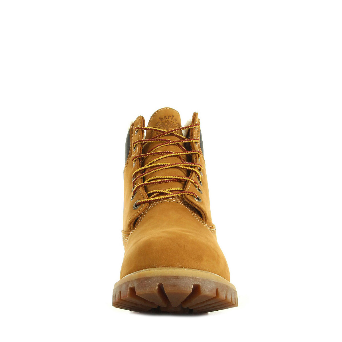 Timberland 6 In Fur Warm Wheat Nubuck Warm Lined CA13GA, Boots homme