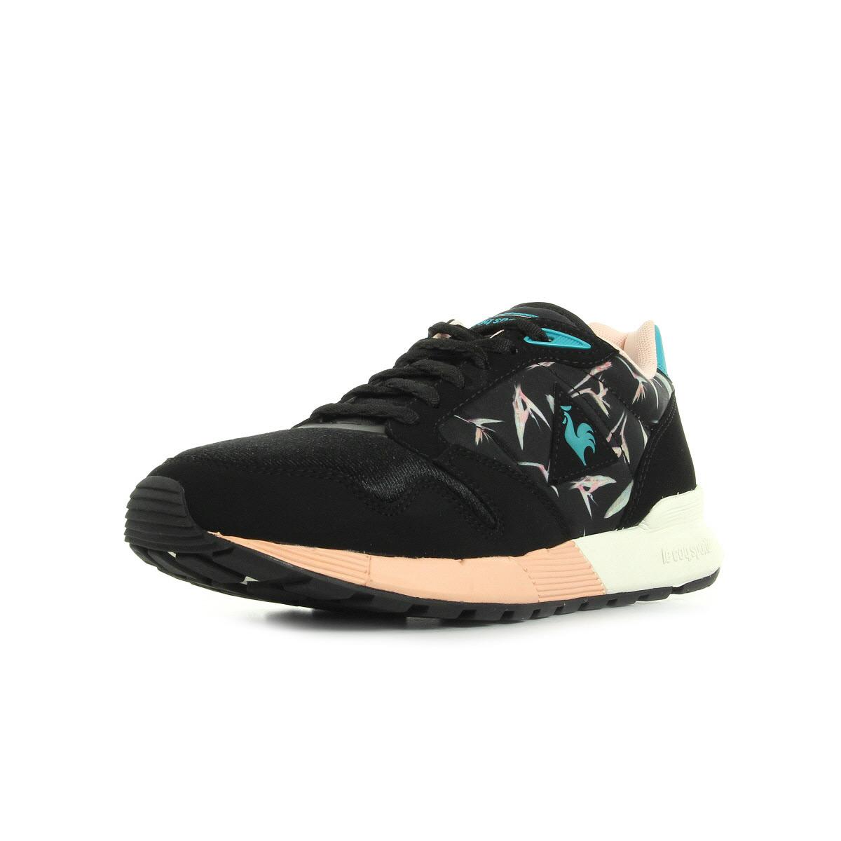 Le Coq Sportif Omega X W Bird of Paradise Black   tropical - Chaussures  Baskets basses Femme GH8HUA1Z - destrainspourtous.fr 365ffff8288