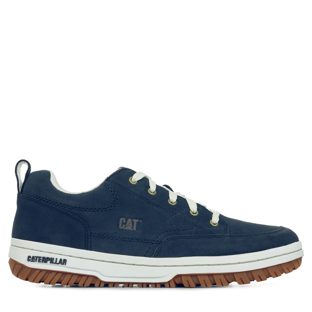 chaussures baskets caterpillar homme decade taille bleu bleue cuir lacets ebay. Black Bedroom Furniture Sets. Home Design Ideas