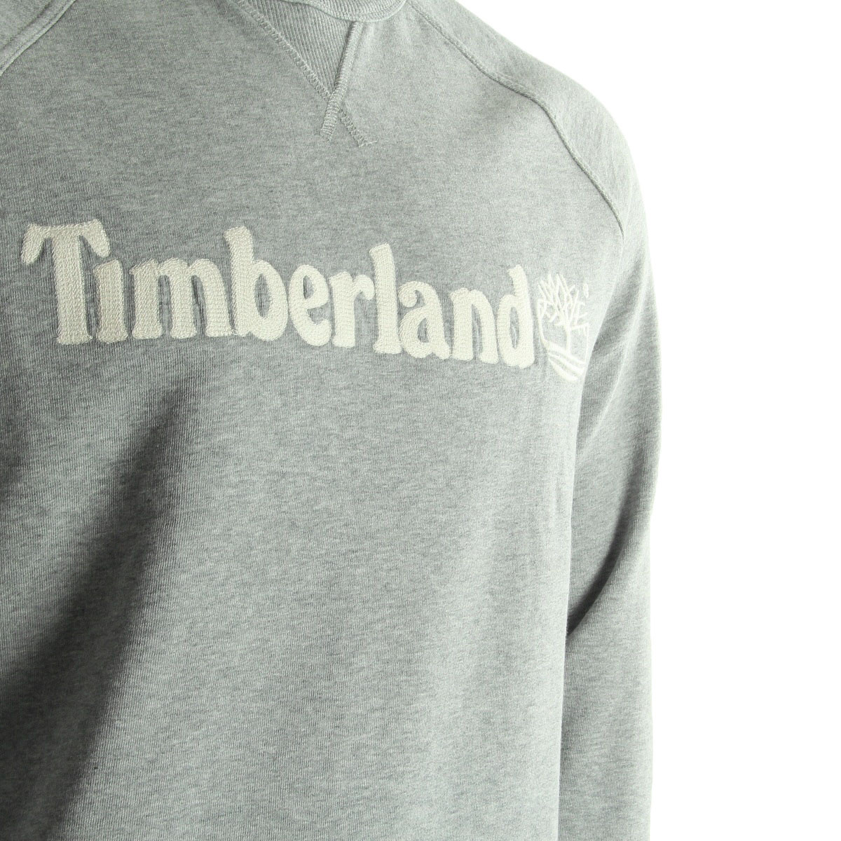 timberland pull gris clair a151o052 sweats homme. Black Bedroom Furniture Sets. Home Design Ideas