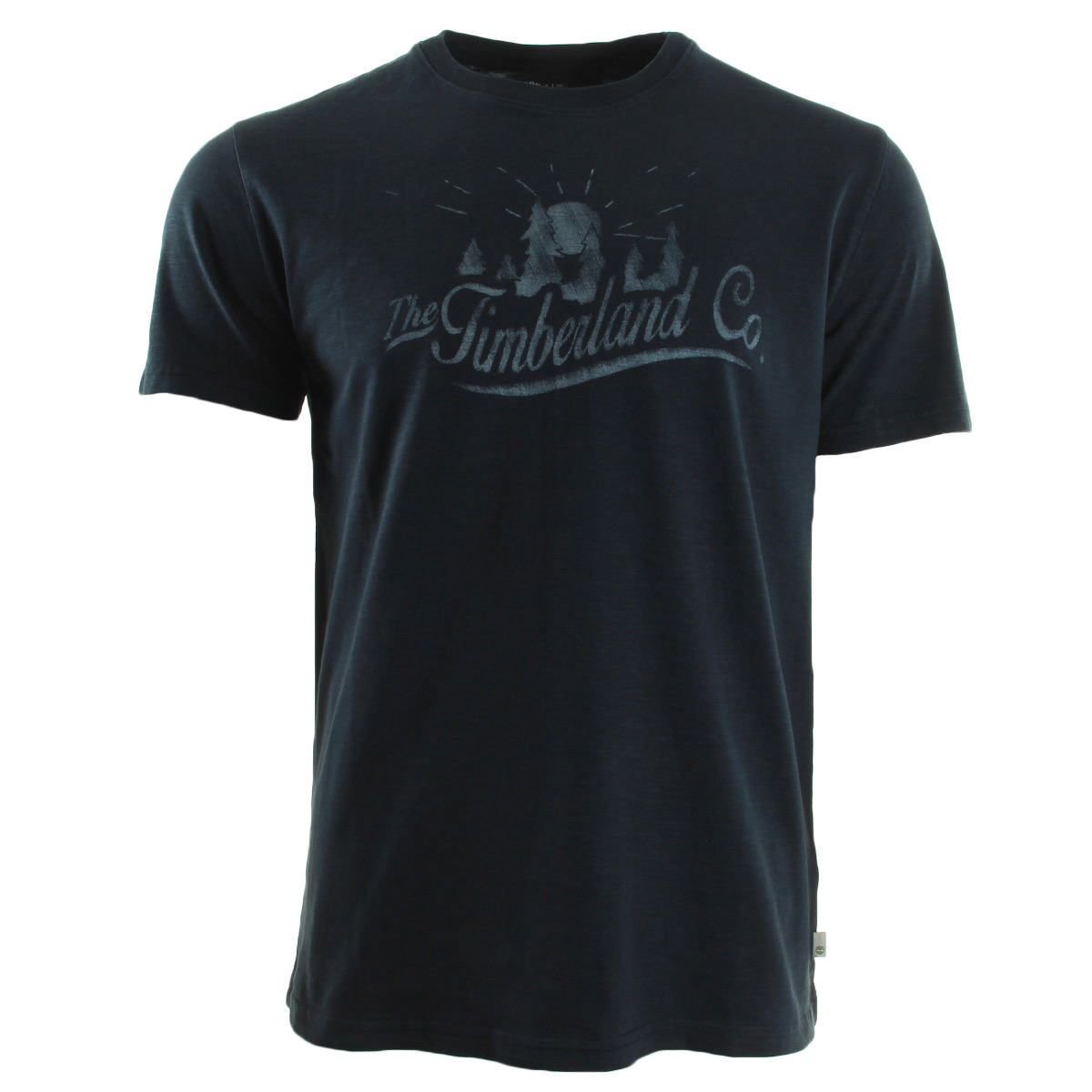 timberland tee shirt bleu marine a1686433 t shirts homme. Black Bedroom Furniture Sets. Home Design Ideas