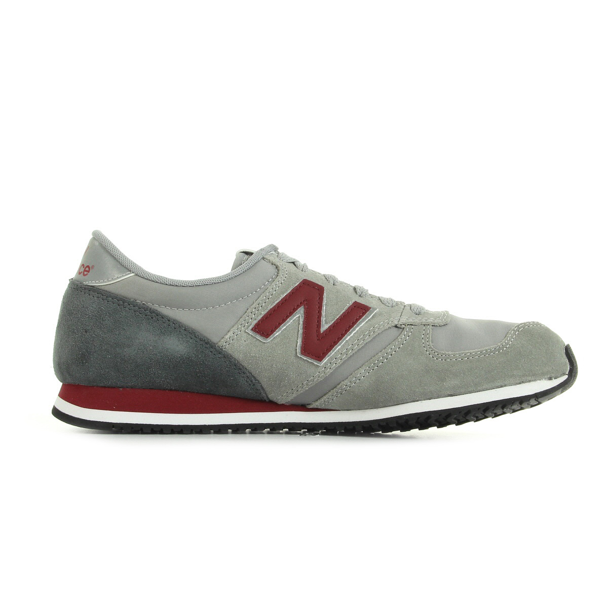 New Balance U420 Gris Bordeaux Homme