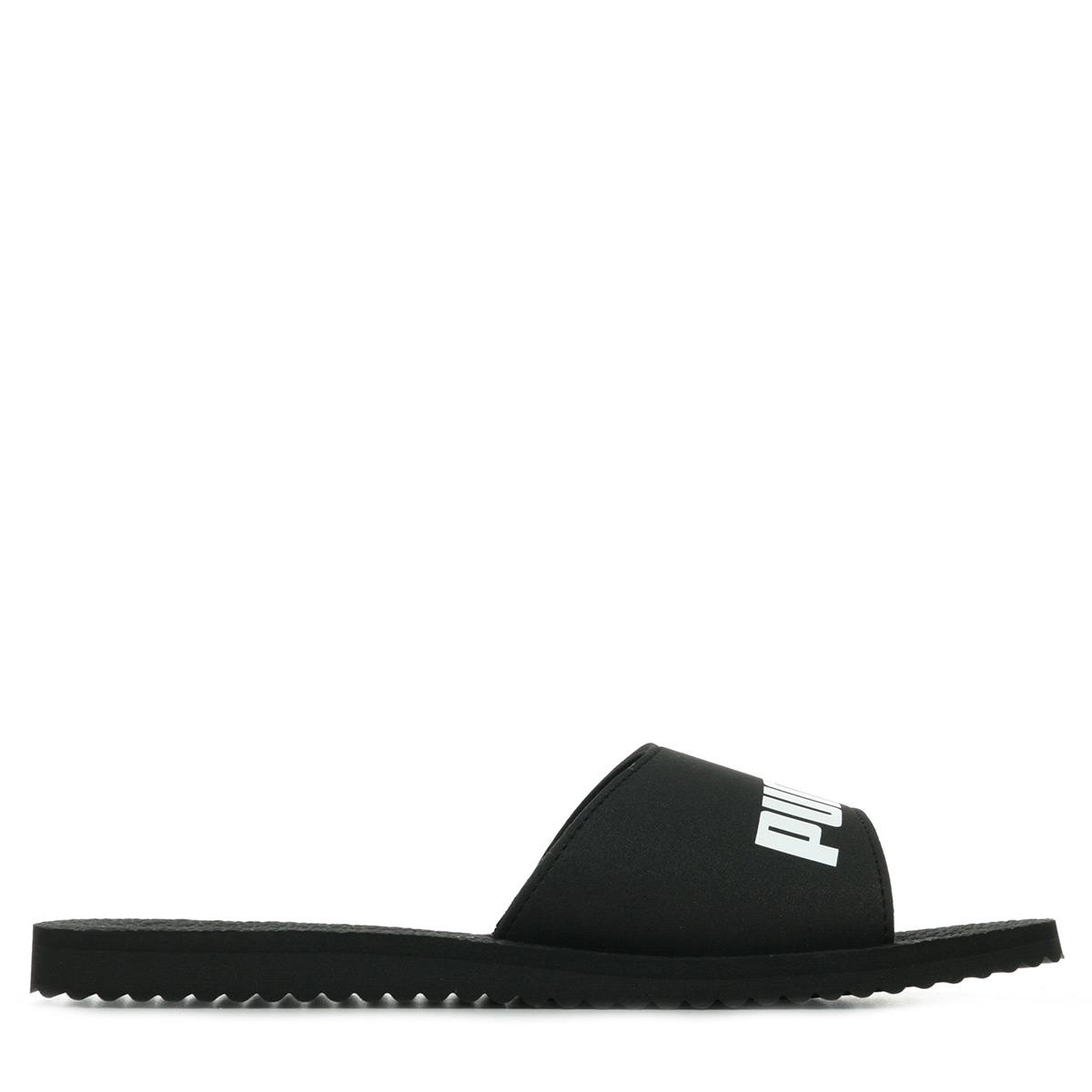 Détails sur Chaussures Claquettes Puma homme Purecat taille Noir Noire Synthétique A
