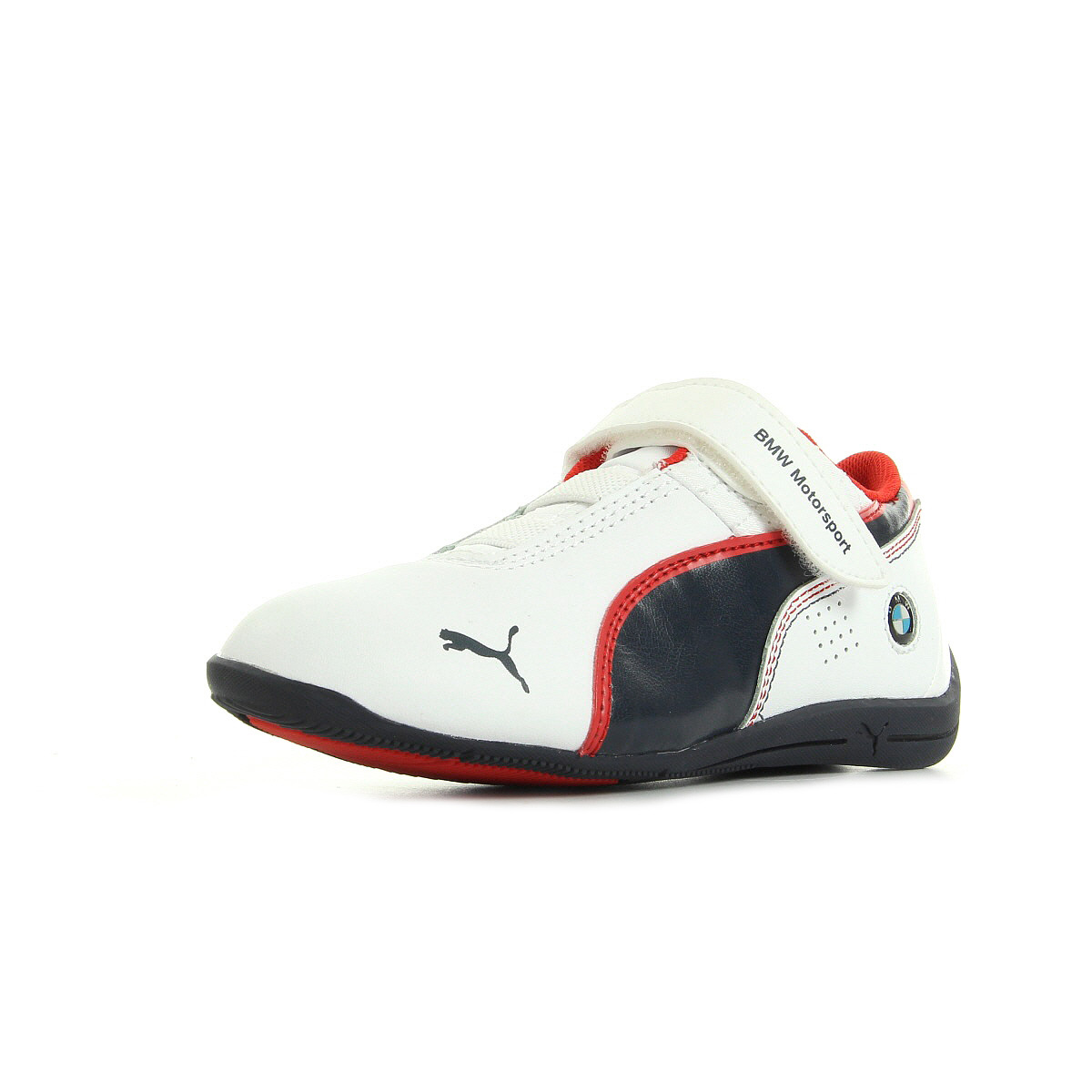chaussures baskets puma gar on drift cat6 l bmw v kids taille blanc blanche ebay. Black Bedroom Furniture Sets. Home Design Ideas