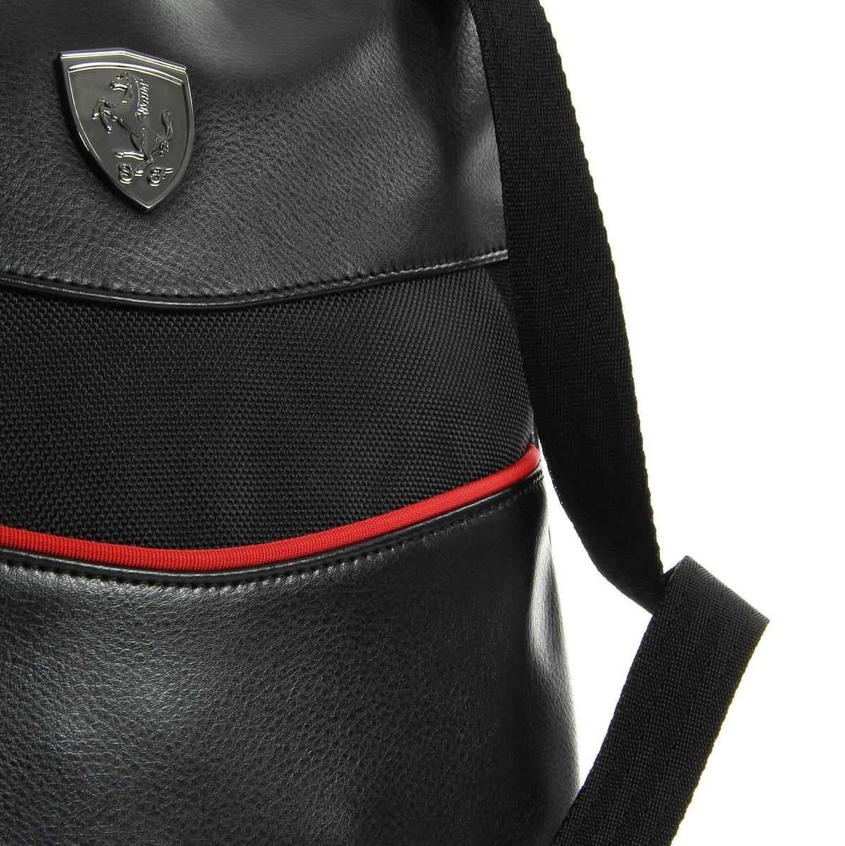 puma ferrari ls tablet bag black 07393801 sacs bandouli re sacoches unisexe. Black Bedroom Furniture Sets. Home Design Ideas