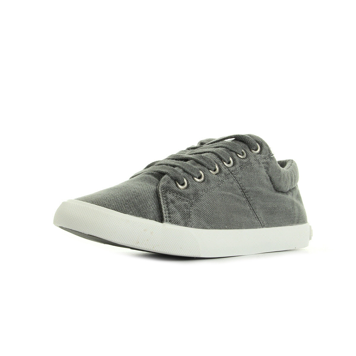 Rocket Dog Campo Beach Canvas Grey gris - Chaussures Baskets basses Femme