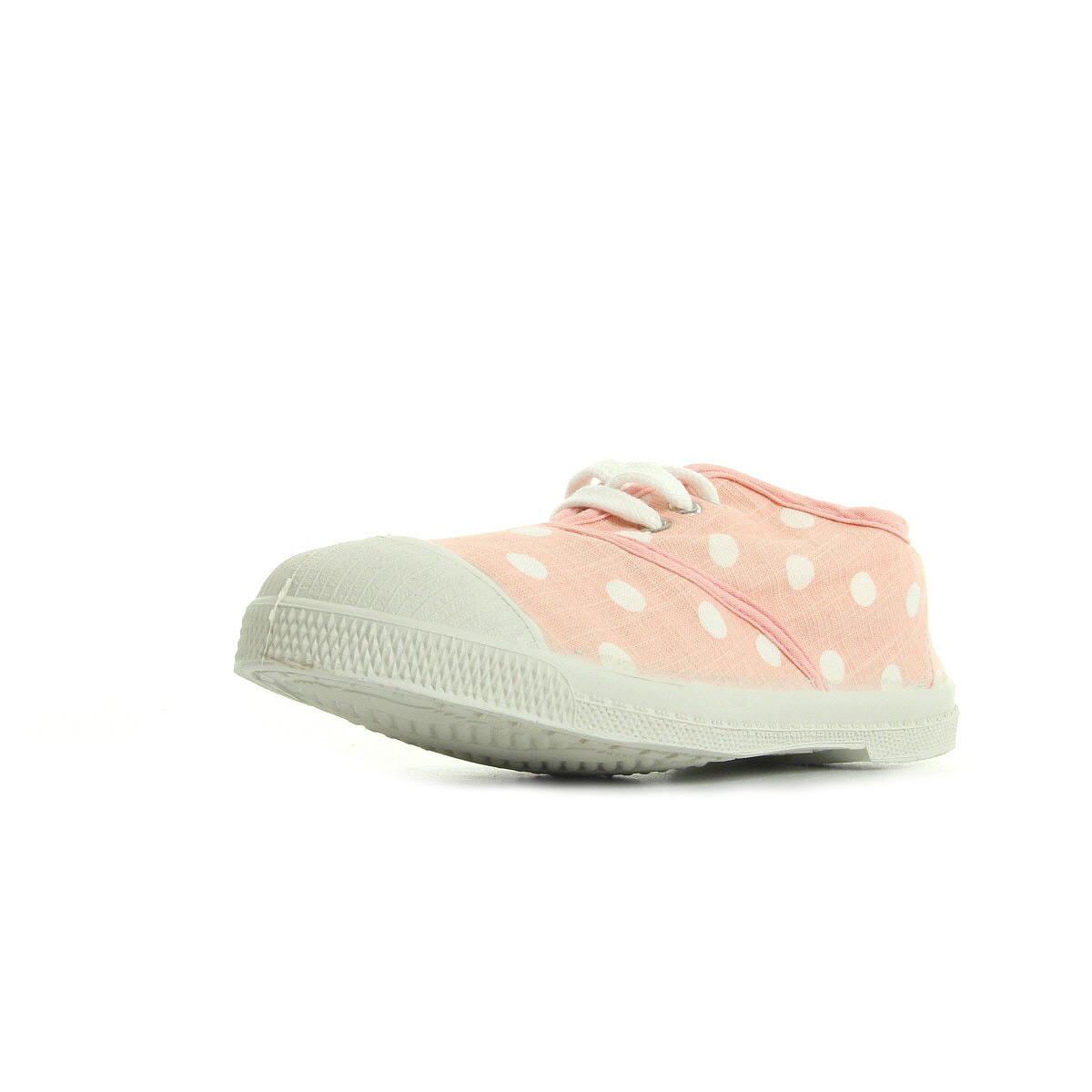 Baskets Bensimon Ten Lacet Pastel Pastille Rose