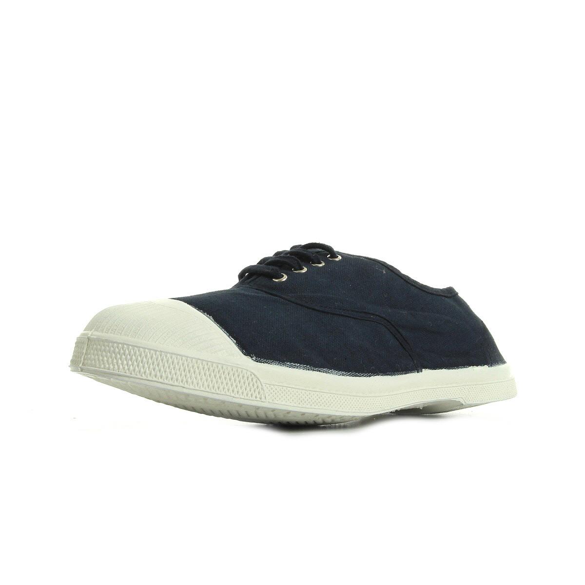 3a88b1147b49a Details about Chaussures Baskets Bensimon homme Ten Lacets Homme taille Bleu  marine Bleue