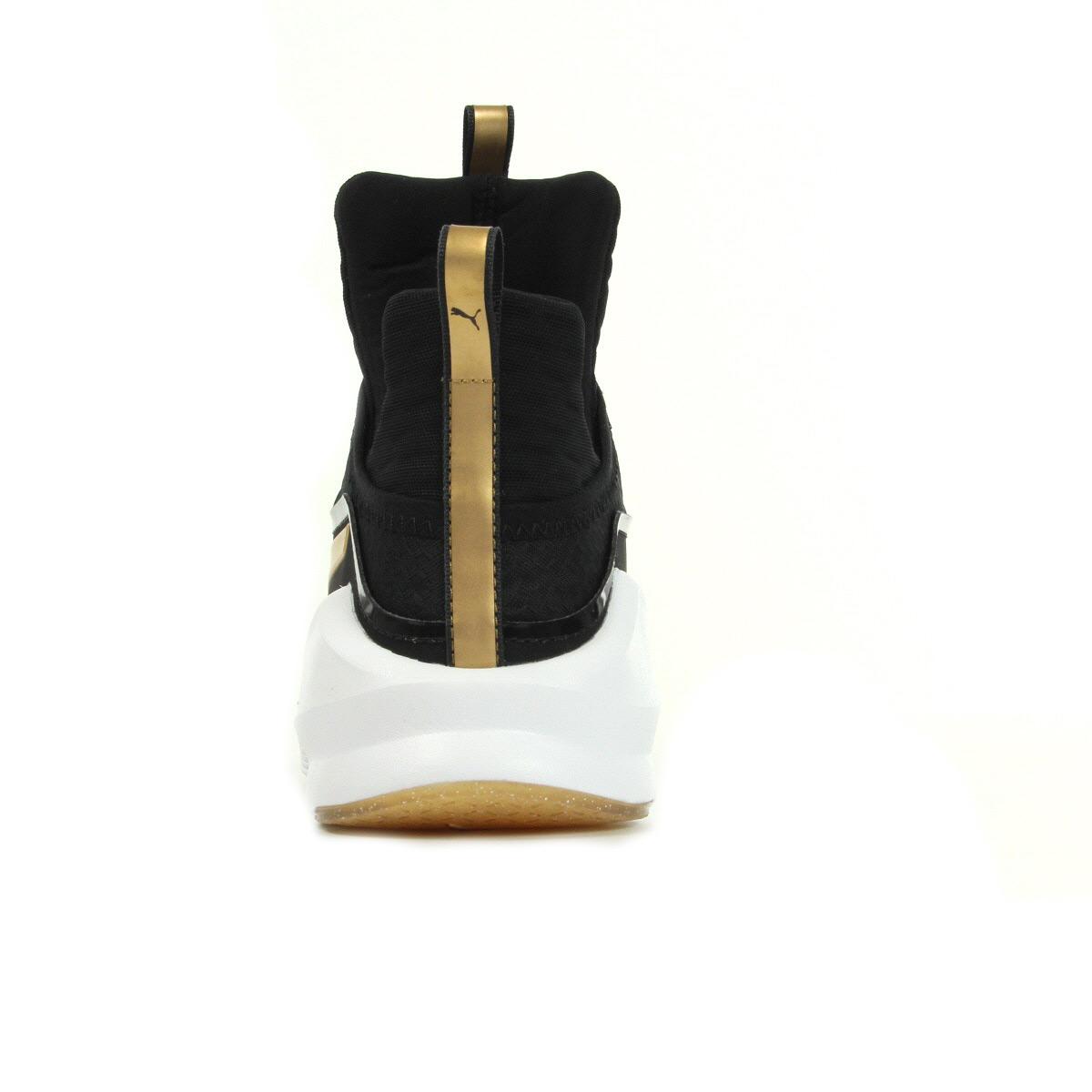 35c3c00d42c Chaussures Baskets Puma femme Fierce GOLD taille Noir Noire Textile ...