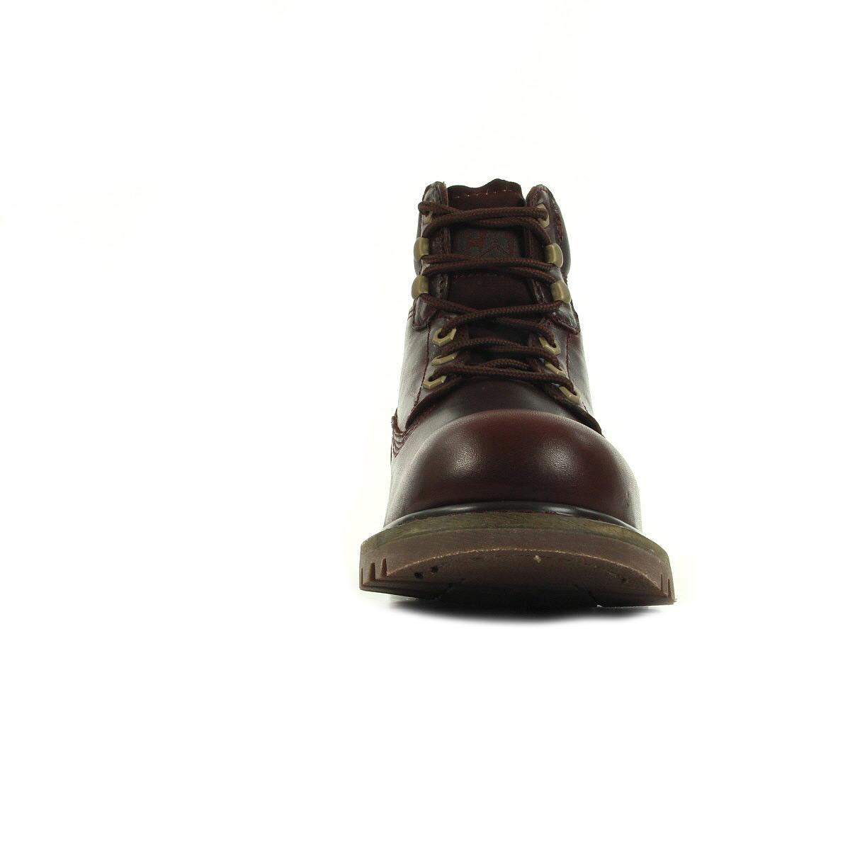 Caterpillar Colorado Burgundy P720262, Boots homme