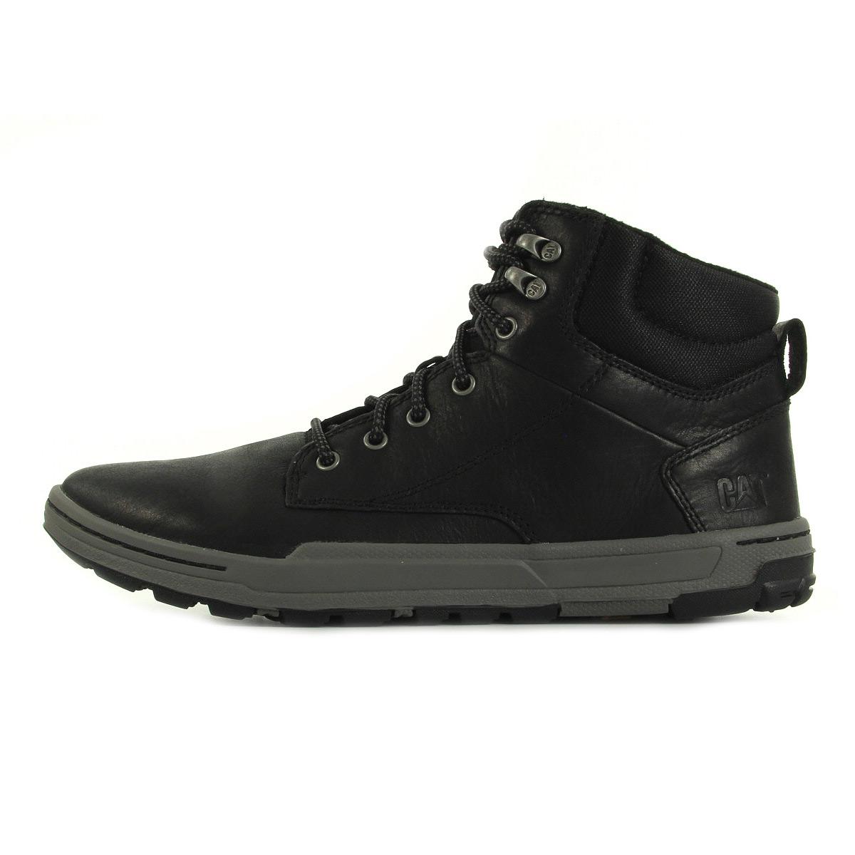 7ae7c3b6cac7 Colfax Boots Caterpillar Homme Black P720279 Mid ZqwvPd