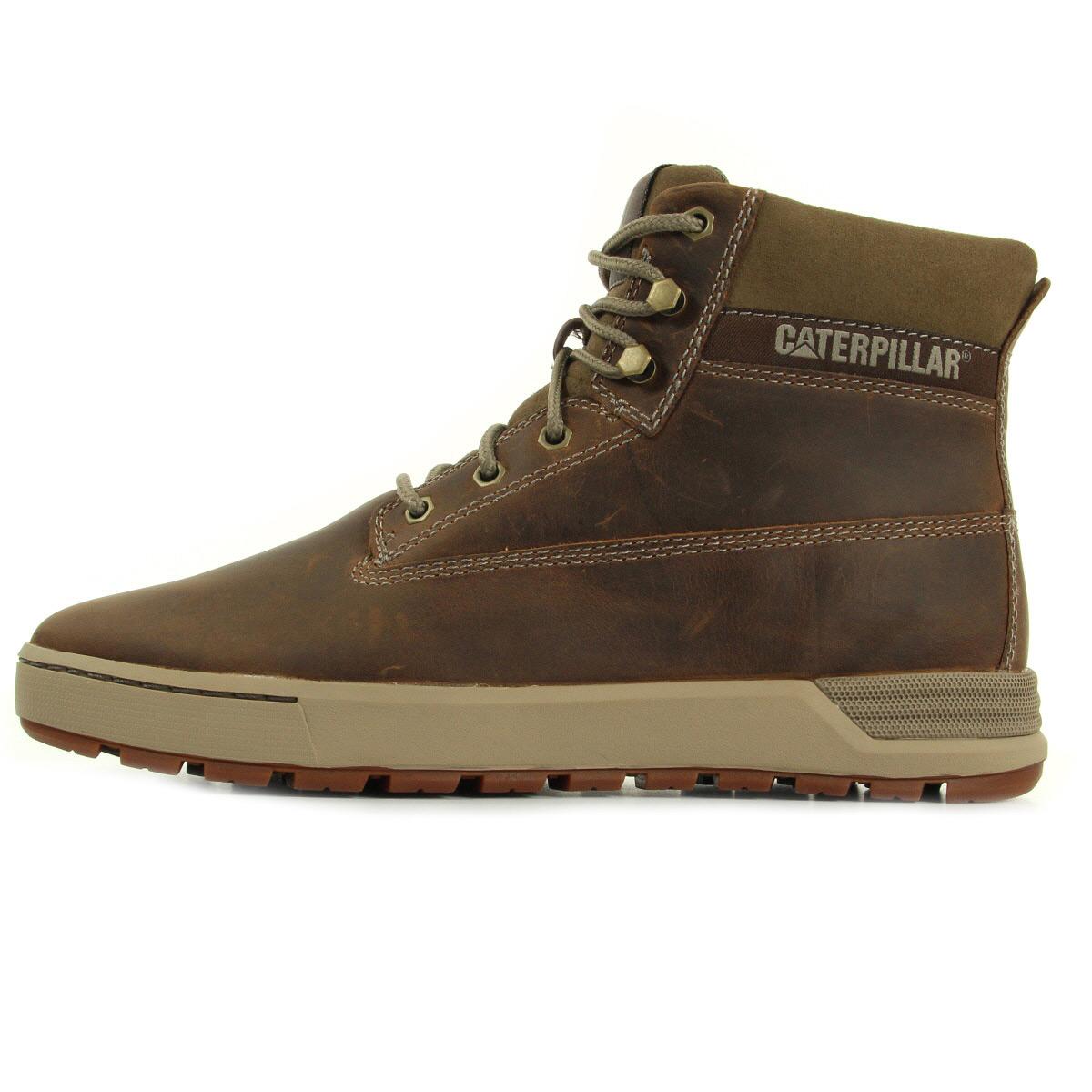 Caterpillar ryker dark beige p720432 boots homme - Chaussure homme caterpillar ...