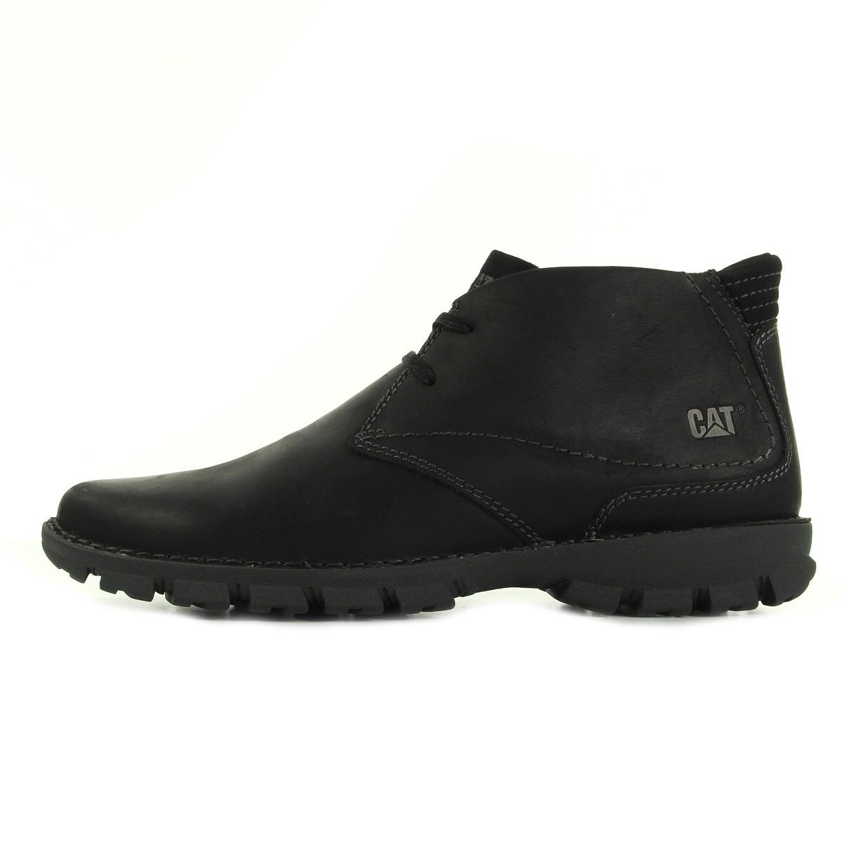 caterpillar mitch black p720653 chaussures homme homme. Black Bedroom Furniture Sets. Home Design Ideas