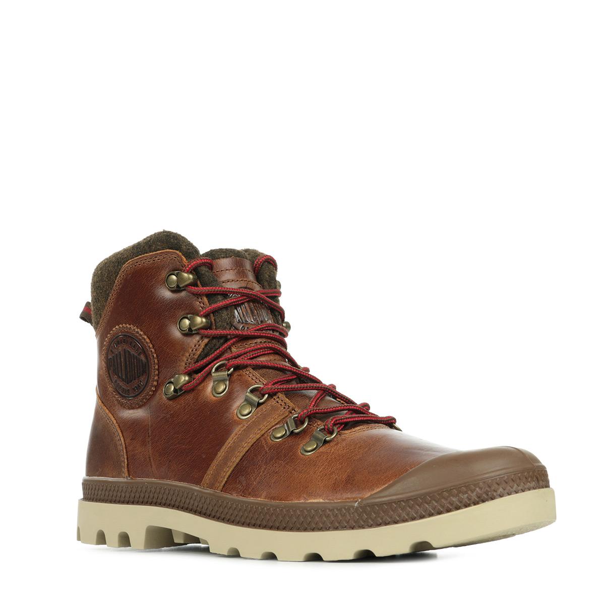 Palladium Pallab Hiker Sunrise Red Saf H 74421E20, Boots homme