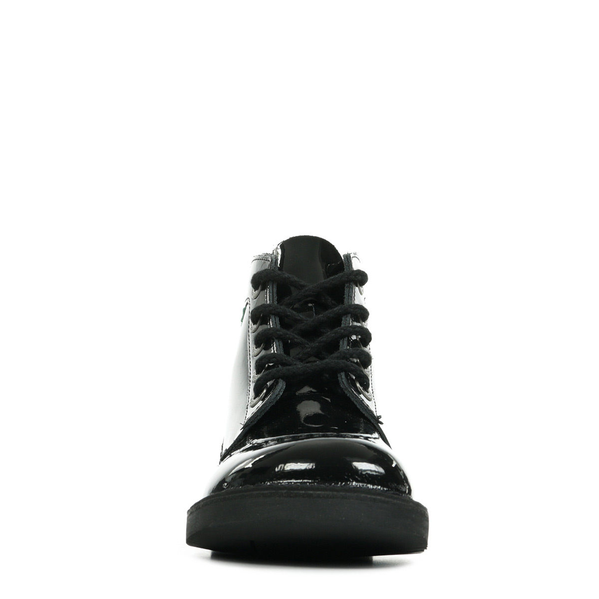 Kickers Kick Col Noir Vernis Perm 2090353083, Bottines femme