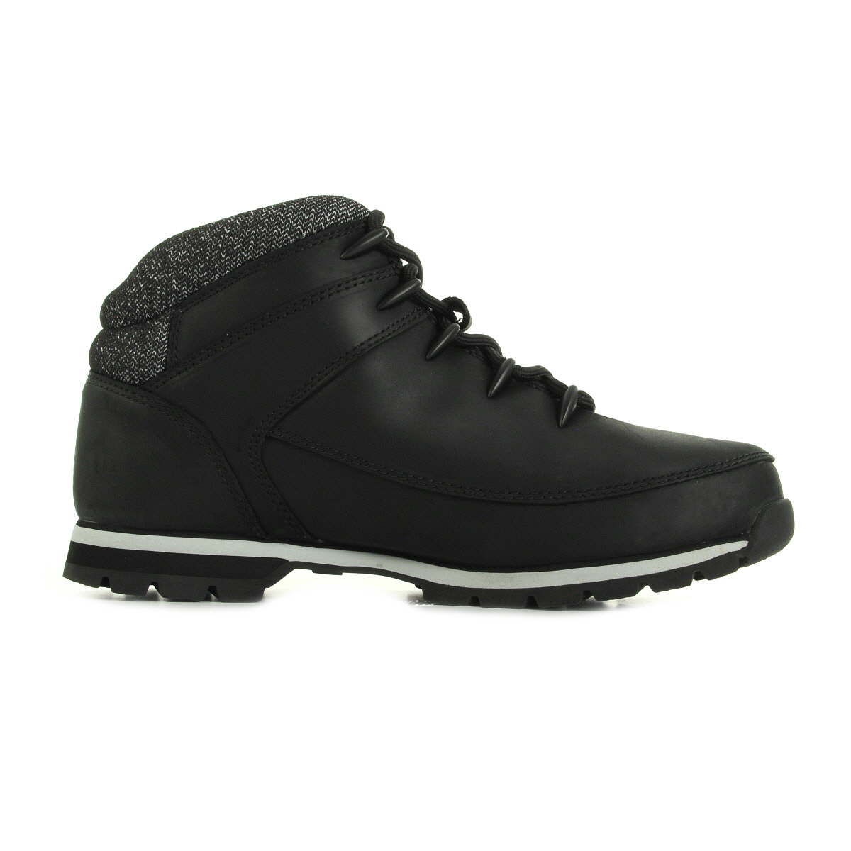 Timberland Euro Sprint Hiker Black Full Grain CA18OX, Boots homme