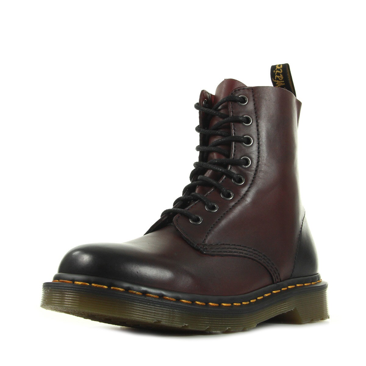 dr martens pascal cherry red antique temperley 21154600 boots femme. Black Bedroom Furniture Sets. Home Design Ideas
