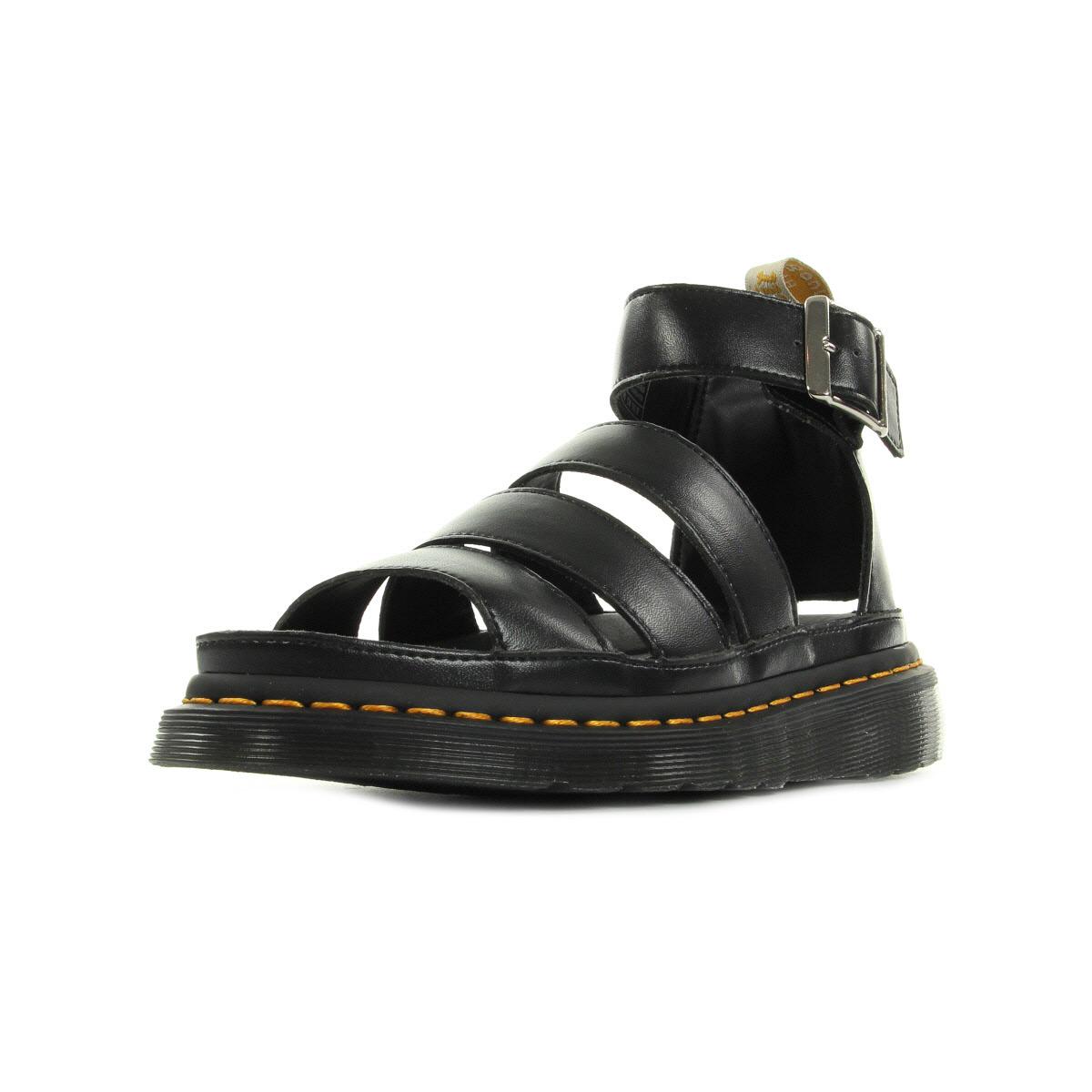 dr martens v clarissa ii black vegan 22076001 chaussures homme homme. Black Bedroom Furniture Sets. Home Design Ideas