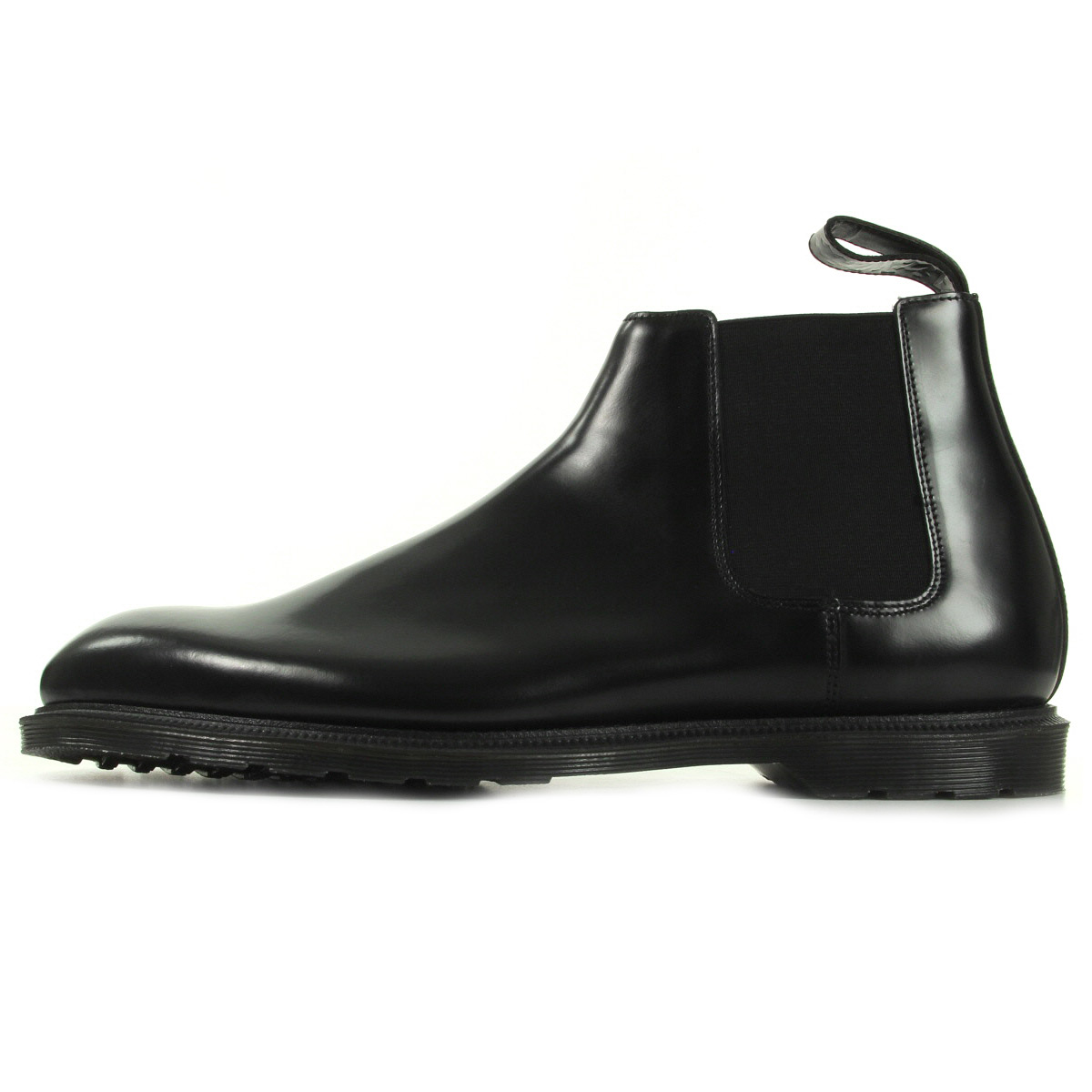 Dr. Martens Wilde Black Polished Smooth 16775001, Bottines homme