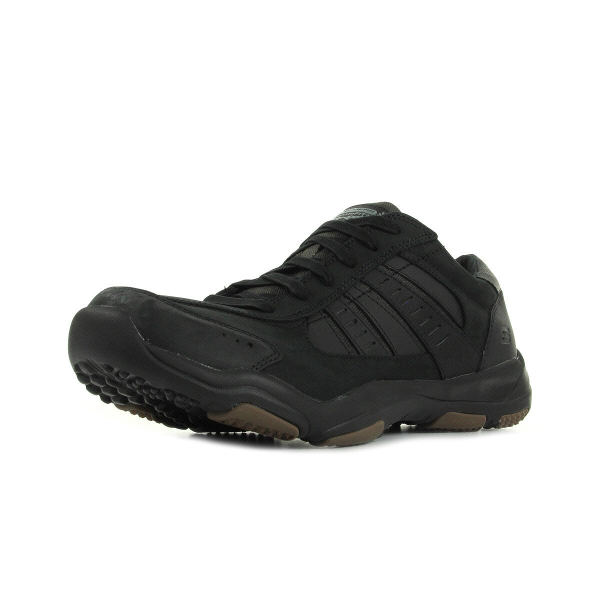 skechers larson nerick 64833blk chaussures homme homme. Black Bedroom Furniture Sets. Home Design Ideas