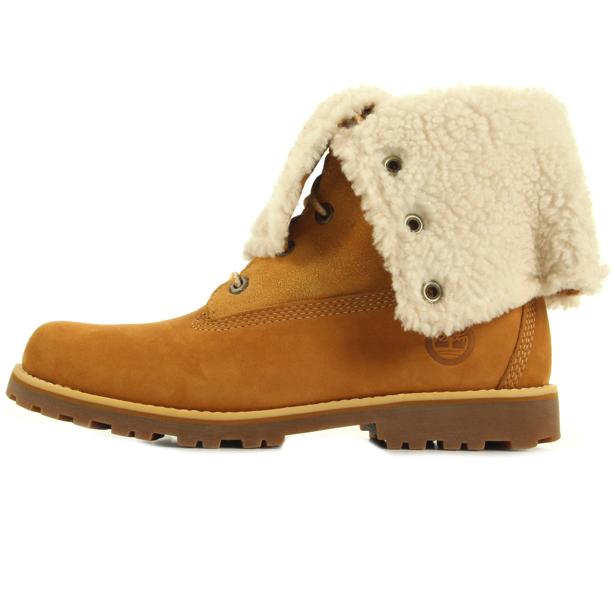 Timberland 6 In WP Shearling Bo Wheat CA156N, Boots femme