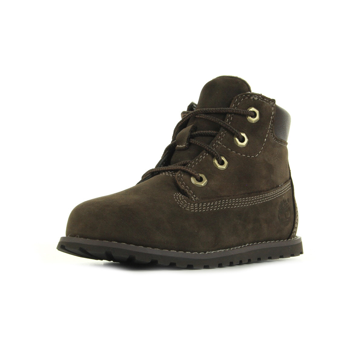 Timberland Boots POKEY PINE 6IN BOOT WHIT SIDE Marron EU4Tw6QB9