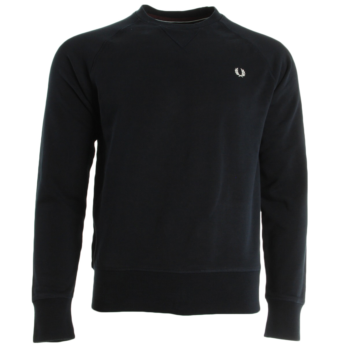 fred perry loopback crew sweat m6313608 chaussures homme homme. Black Bedroom Furniture Sets. Home Design Ideas