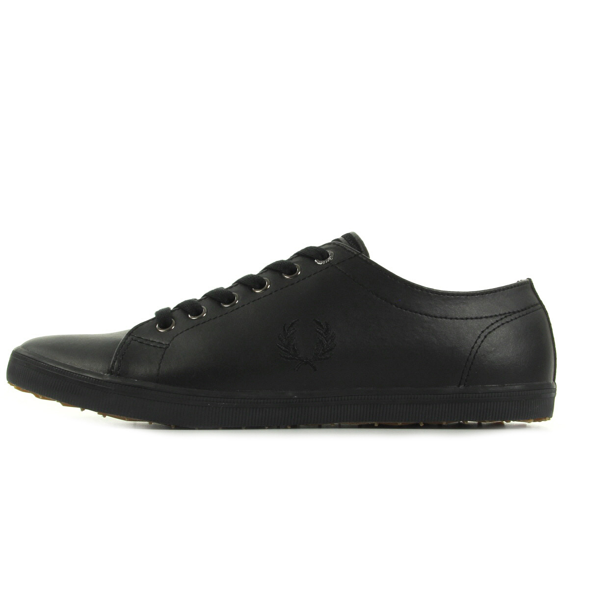 Fred Perry Kingston Leather Black B6237U102, Baskets mode homme