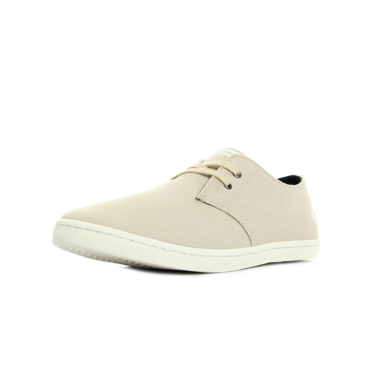Brun Fred Perry Chaussures BYRON LOW TWO TONE TWILL Fred Perry soldes zapattu Clarks Elásticos - Negro wg39a85