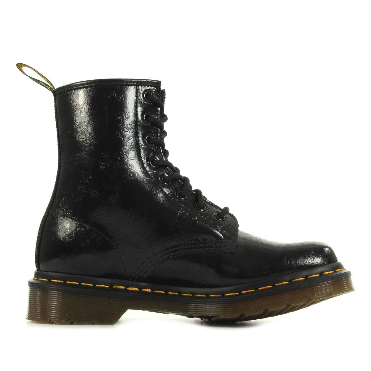 dr martens 1460 black qq flowers 11821018 chaussures homme homme. Black Bedroom Furniture Sets. Home Design Ideas