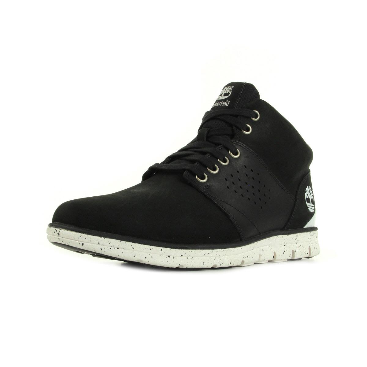 Col Rembourré Bradstreet - Chaussures À Lacets Pour Les Hommes / Timberland Noir 6QdE0V1