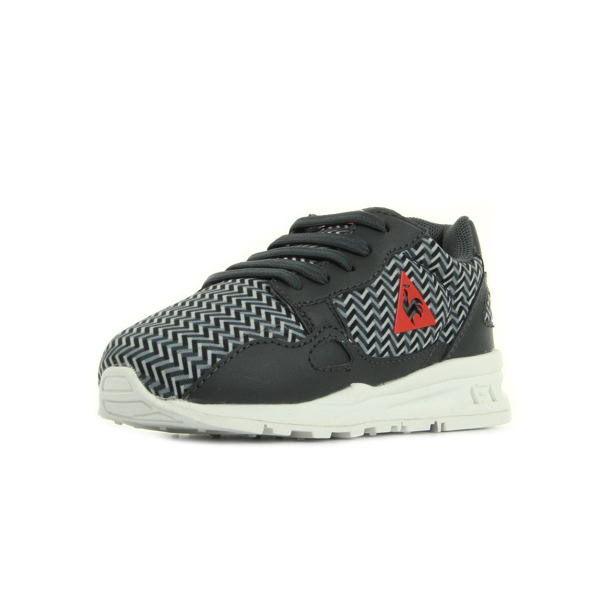 le coq sportif lcs r900 inf geo print 1620523 chaussures homme homme. Black Bedroom Furniture Sets. Home Design Ideas
