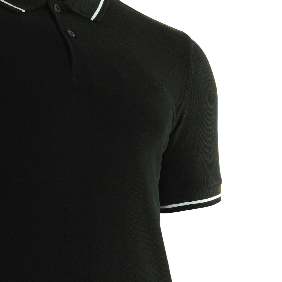 Fred Perry Twin Tipped Shirt Hunt Green M3600D44, Polos homme