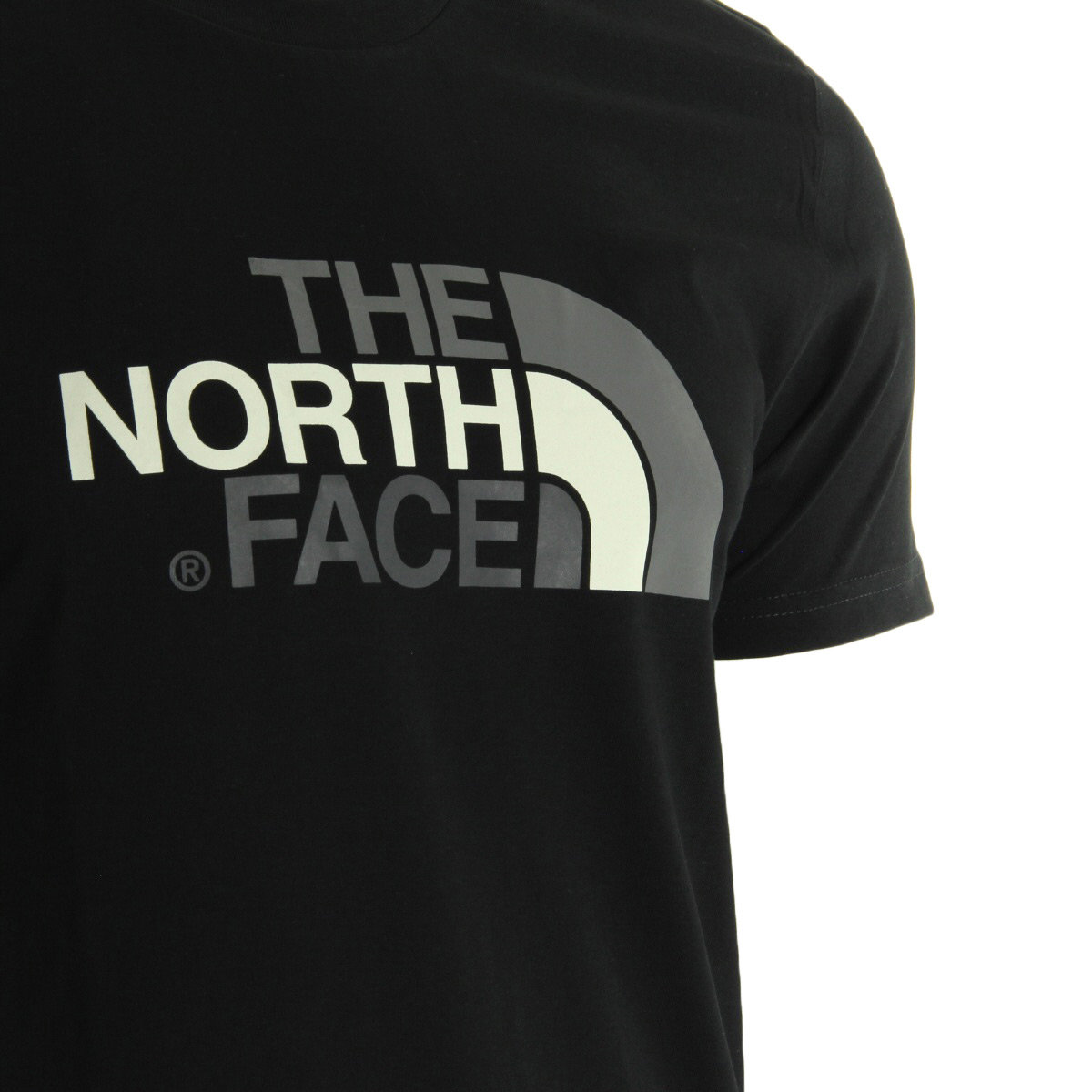 The North Face Easy Tee Black T92TX3JK3, T-Shirts homme
