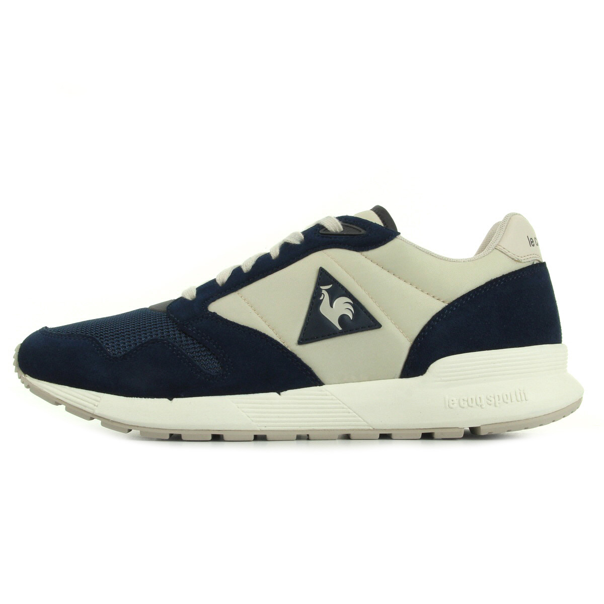 le coq sportif omega x nylon suede 1620331 chaussures homme homme. Black Bedroom Furniture Sets. Home Design Ideas