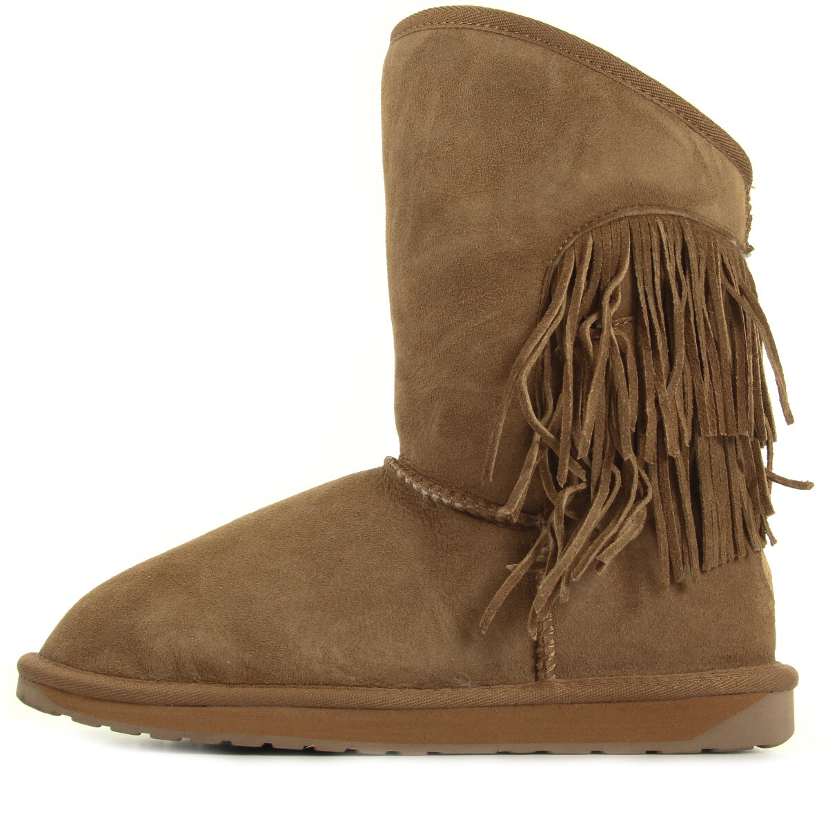 EMU Australia Woodstock Chataigne W11259CHESTNUT, Boots femme