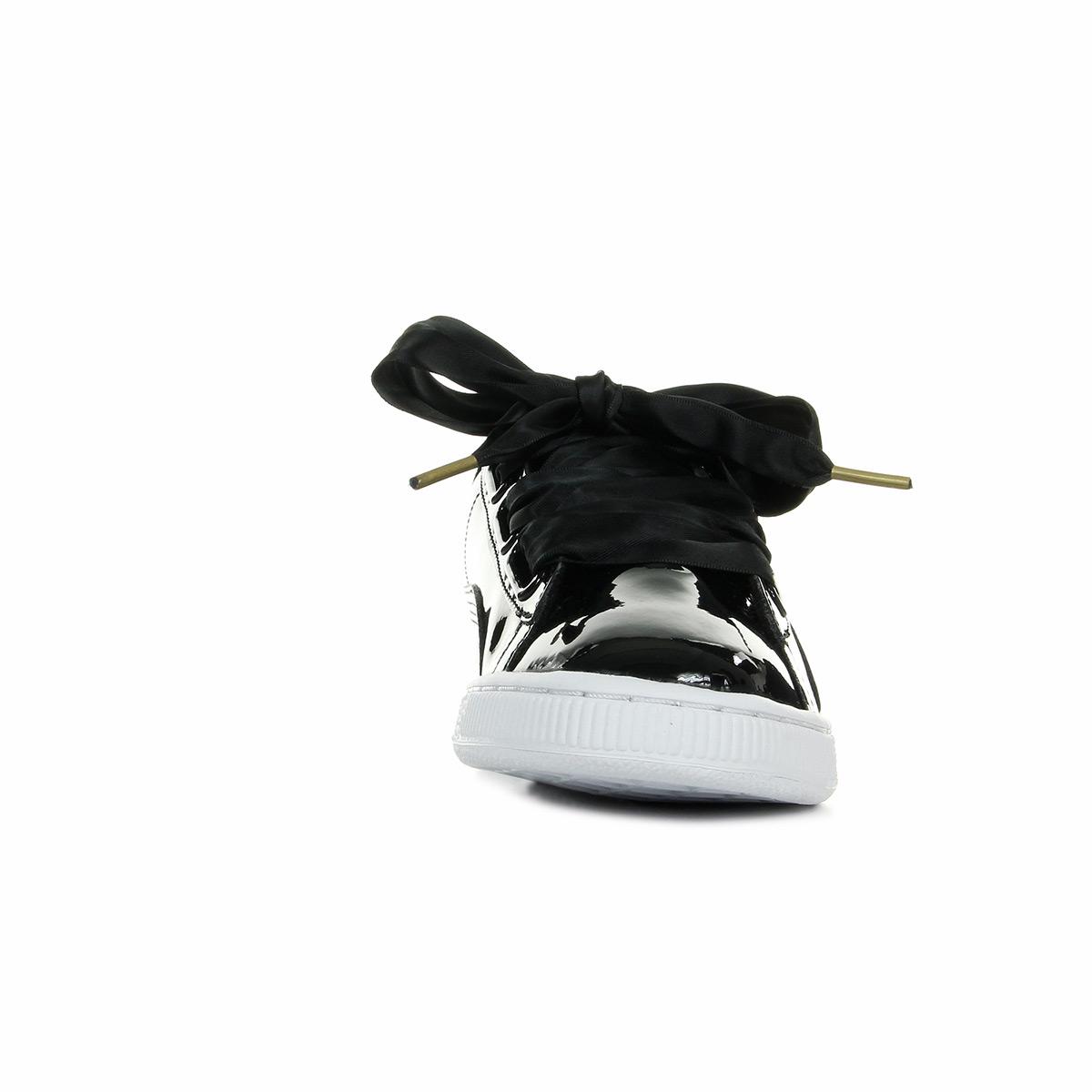 schuhe puma damen basket heart patent wns schwarz ebay. Black Bedroom Furniture Sets. Home Design Ideas