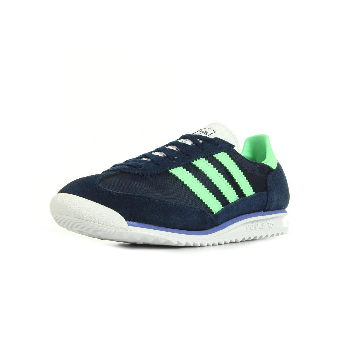 Chaussures Adidas SL 72 bleu marine Fashion femme SZMC8lJ