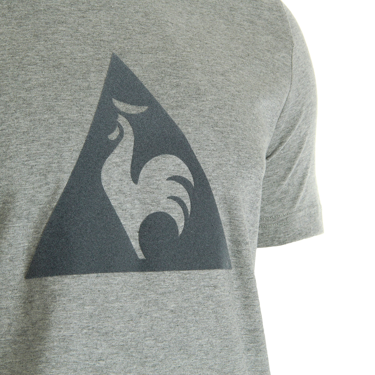 Vêtement T-Shirts Le Coq Sportif homme Ess N°1 Tee Grey taille Gris ... cafbc25dd48