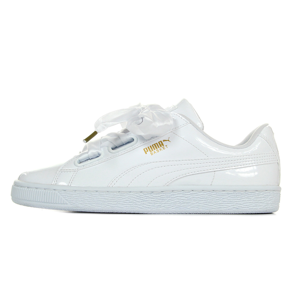 Blanche Basket Femme Baskets Chaussures Patent Puma Taille