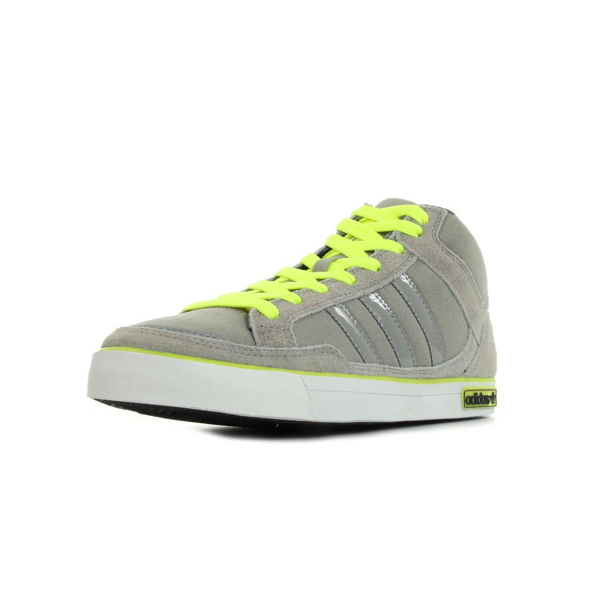Chaussures Baskets adidas homme VC 1000 taille Gris Grise Textile Lacets