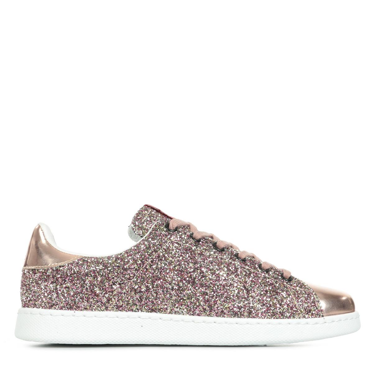 chaussures baskets victoria femme deportivo basket glitter taille rose. Black Bedroom Furniture Sets. Home Design Ideas